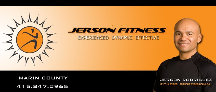 jerson fitness marin county in home gym outdoor bootcamp best personal trainer weight loss muscle tone